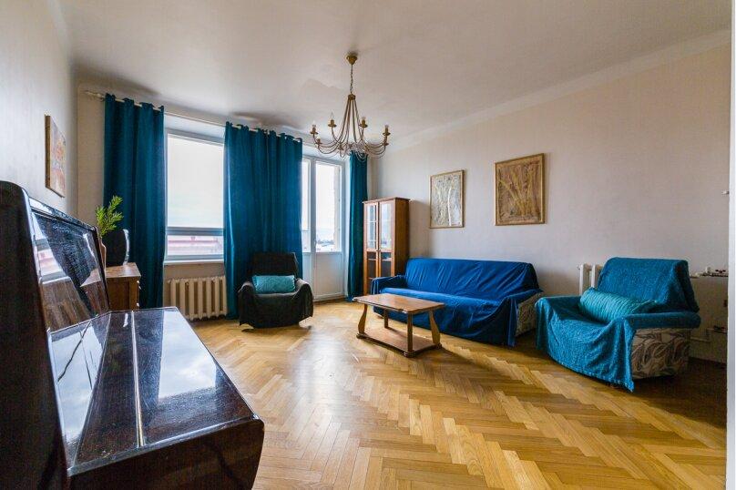 4-комн. квартира, 91 кв.м. на 8 человек, Кронверкский проспект, 45, Санкт-Петербург - Фотография 2