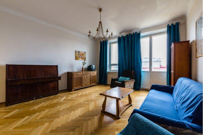 4-комн. квартира, 91 кв.м. на 8 человек, Кронверкский проспект, 45, Санкт-Петербург - Фотография 6