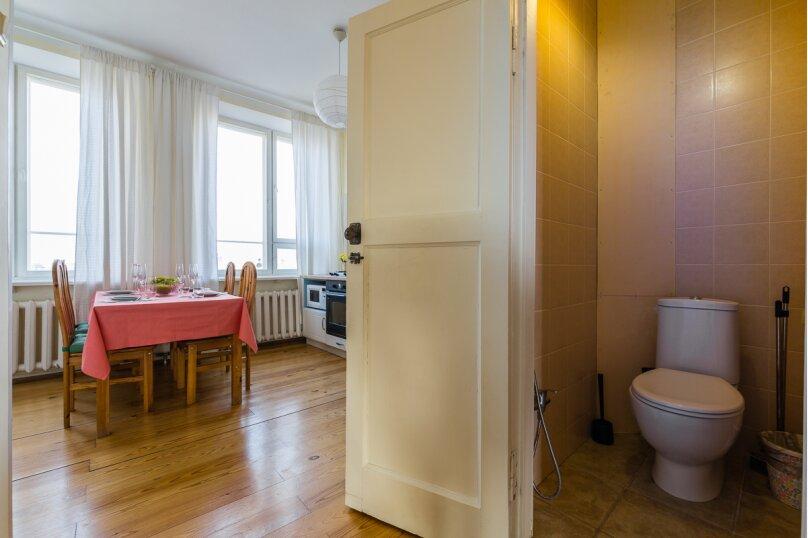4-комн. квартира, 91 кв.м. на 8 человек, Кронверкский проспект, 45, Санкт-Петербург - Фотография 28