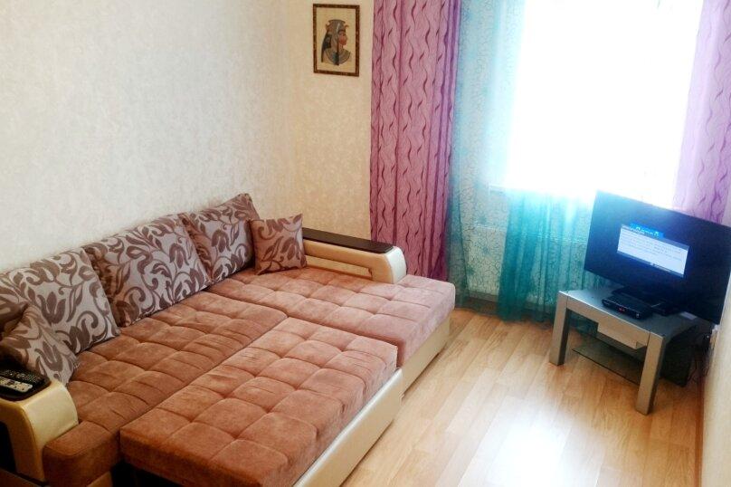1-комн. квартира, 55 кв.м. на 4 человека, улица Карла Маркса, 42, Казань - Фотография 1