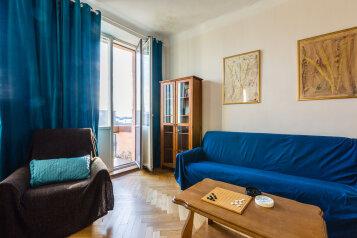 4-комн. квартира, 91 кв.м. на 8 человек, Кронверкский проспект, 45, Санкт-Петербург - Фотография 1
