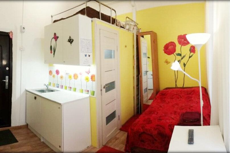 1-комн. квартира, 18 кв.м. на 2 человека, Гончарная улица, 11А, Санкт-Петербург - Фотография 1