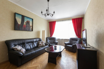 2-комн. квартира, 52 кв.м. на 6 человек, 1-й Смоленский переулок, Москва - Фотография 1
