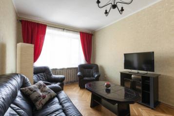 2-комн. квартира, 52 кв.м. на 6 человек, 1-й Смоленский переулок, 24А, Москва - Фотография 1