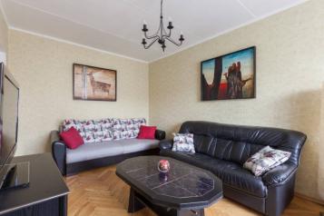 2-комн. квартира, 52 кв.м. на 6 человек, 1-й Смоленский переулок, Москва - Фотография 3