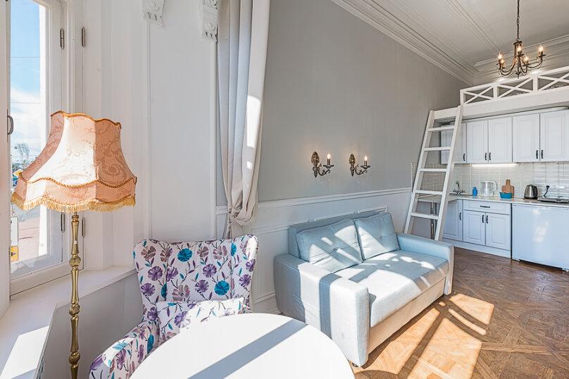 1-комн. квартира, 18 кв.м. на 4 человека, проспект Добролюбова, 25, Санкт-Петербург - Фотография 5