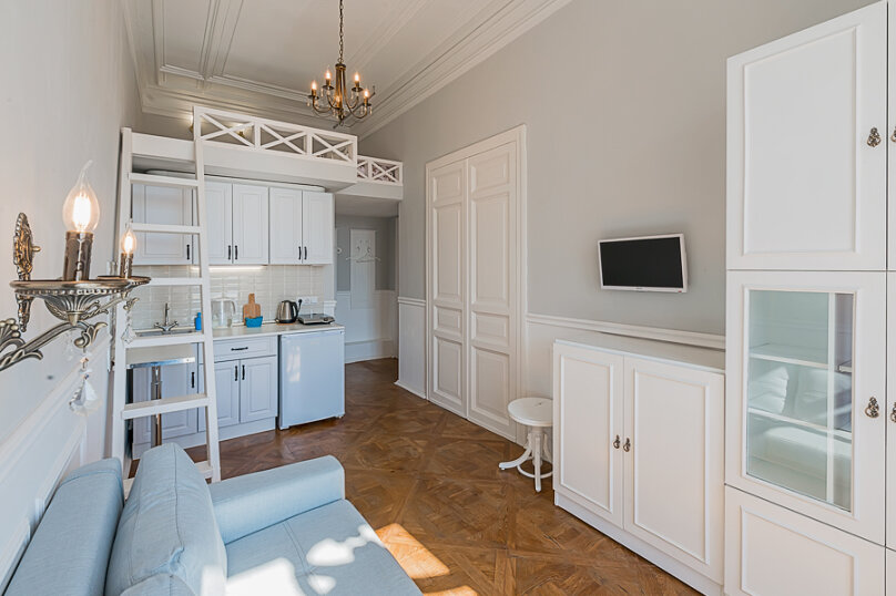 1-комн. квартира, 18 кв.м. на 4 человека, проспект Добролюбова, 25, Санкт-Петербург - Фотография 12