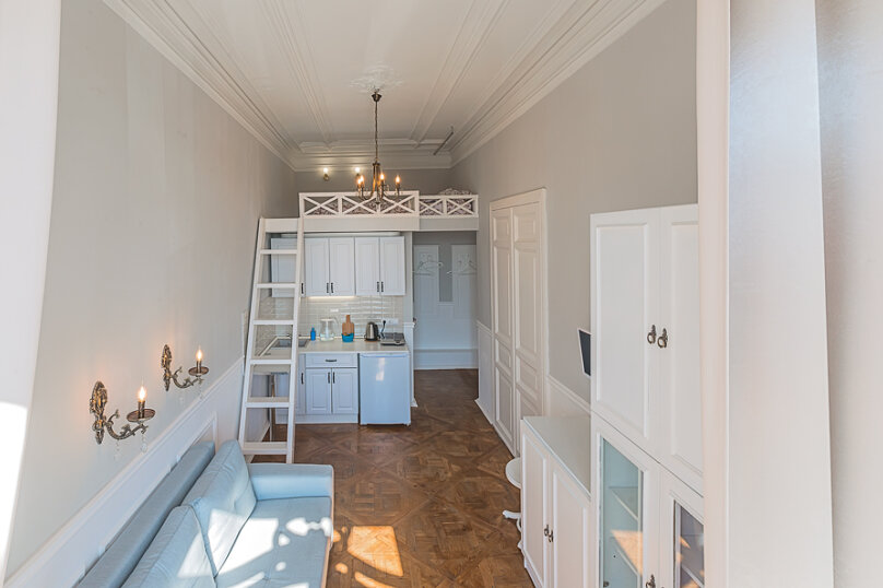 1-комн. квартира, 18 кв.м. на 4 человека, проспект Добролюбова, 25, Санкт-Петербург - Фотография 13