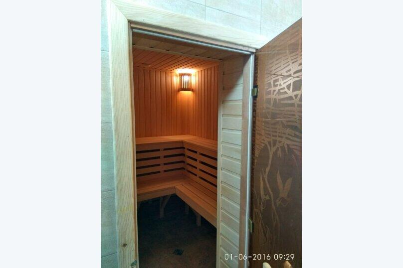 Коттедж с бассейном и сауной, 134 кв.м. на 4 человека, 2 спальни,  Лазурная , 6, Молочное - Фотография 14