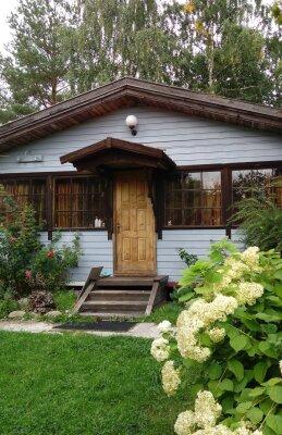 Дом у озера с бильярдной и баней и снегоходом, 140 кв.м. на 6 человек, 3 спальни, Причальная, 17, Приозерск - Фотография 1