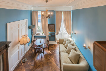 1-комн. квартира, 19 кв.м. на 4 человека, проспект Добролюбова, 25, Санкт-Петербург - Фотография 1