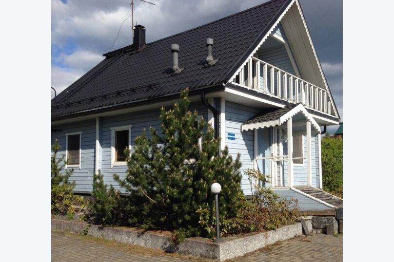 Теплый дом с бильярдом и банькой, 150 кв.м. на 15 человек, 5 спален, улица Луговая, 23, Лисий Нос - Фотография 1