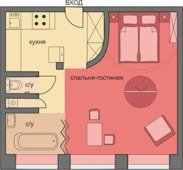 1-комн. квартира, 53 кв.м. на 2 человека, улица Новый Арбат, Москва - Фотография 2