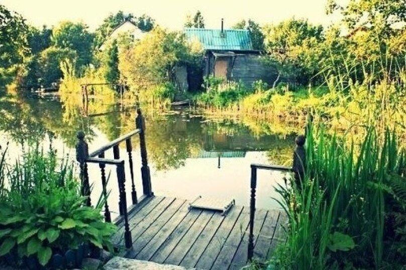 Большой дом для праздников у озера, 150 кв.м. на 12 человек, 4 спальни, Никольское шоссе, 1, деревня Никольское, Вырица - Фотография 8