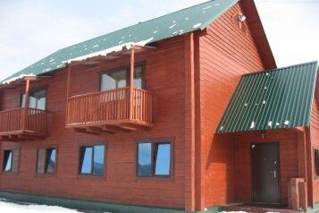 Коттедж из кедрового бруса, 100 кв.м. на 14 человек, 3 спальни, улица Дзержинского, Шерегеш - Фотография 1
