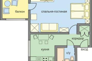 1-комн. квартира, 32 кв.м. на 4 человека, Кутузовский проспект, 17, Москва - Фотография 2