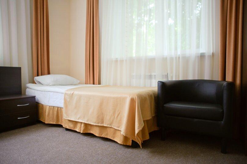 Стандарт с 2-мя раздельными кроватями, 3-й Томский переулок, 5А, Челябинск - Фотография 1