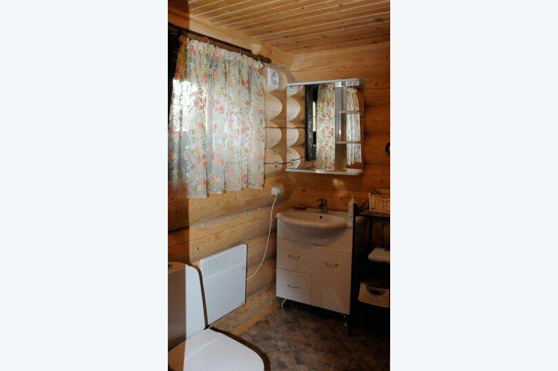 Новый комфортабельный  коттедж с катком у пруда, 120 кв.м. на 7 человек, 3 спальни, дер. Ивановское, № 6, Осташков - Фотография 2
