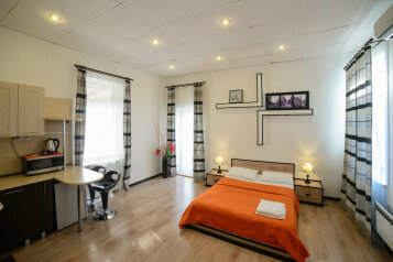 Люкс:  Квартира, 4-местный (2 основных + 2 доп), 5-комнатный, Апартотель, Фонтанная улица, 59 на 22 номера - Фотография 2