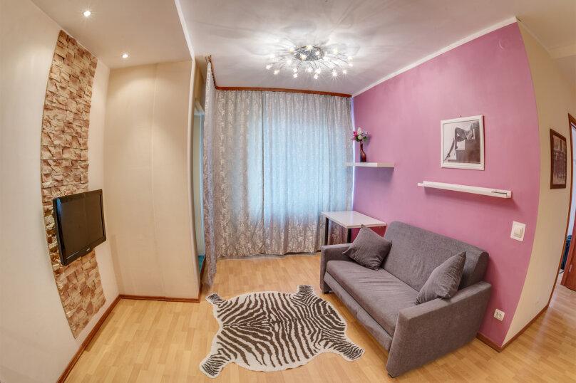 2-комн. квартира, 56 кв.м. на 4 человека, Геодезическая улица, 17/1, Новосибирск - Фотография 4