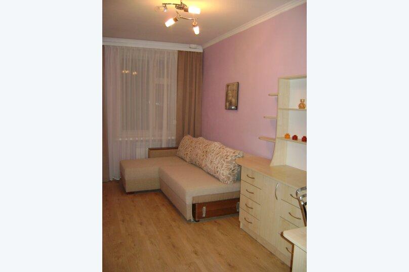 3-комн. квартира, 54 кв.м. на 6 человек, улица Гагарина, 5, Судак - Фотография 6