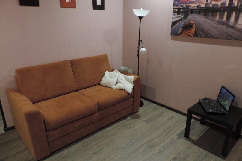 1-комн. квартира, 42 кв.м. на 4 человека, Олимпийская улица, 53А, Кировск - Фотография 4