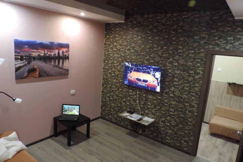 1-комн. квартира, 42 кв.м. на 4 человека, Олимпийская улица, 53А, Кировск - Фотография 5