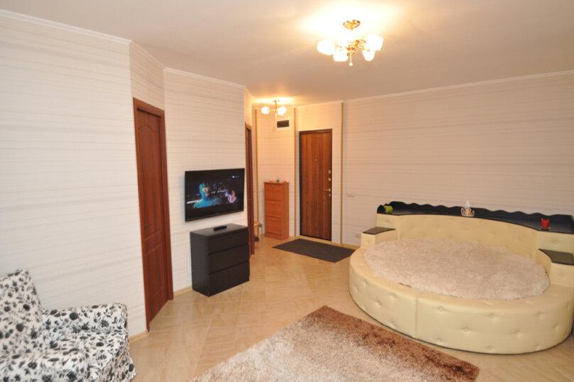 2-комн. квартира, 42 кв.м. на 4 человека, улица Трёхгорный Вал, 24, Москва - Фотография 1