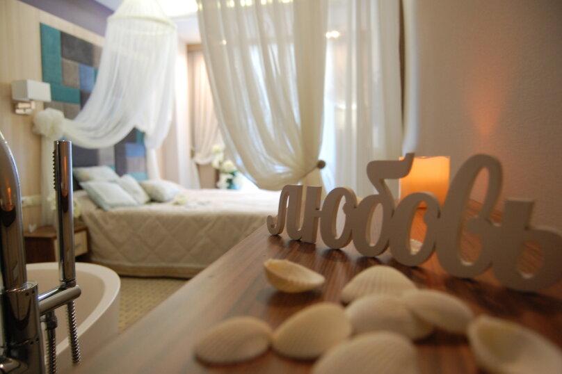 Люкс с ванной в спальне, улица Голицына, 7, Судак - Фотография 4