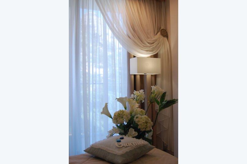 Люкс с ванной в спальне, улица Голицына, 7, Судак - Фотография 6