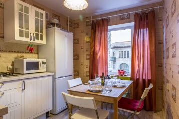 2-комн. квартира, 64 кв.м. на 6 человек, улица Плющиха, 27, Москва - Фотография 3