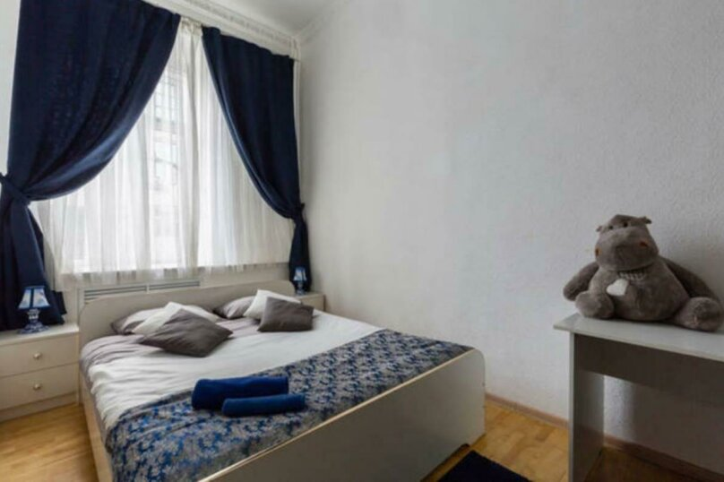 3-комн. квартира, 77 кв.м. на 4 человека, улица Переверткина, 46, Воронеж - Фотография 6