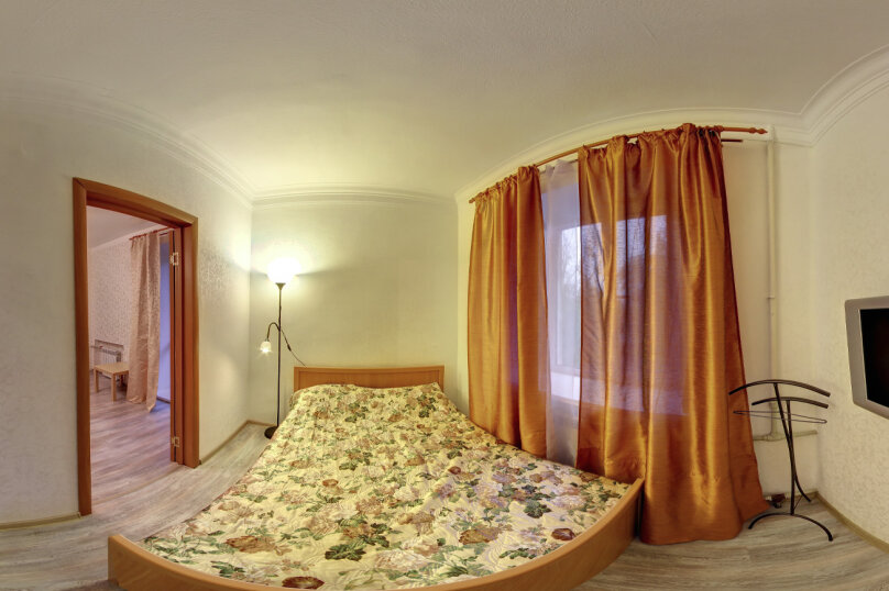 2-комн. квартира, 41 кв.м. на 4 человека, улица Короленко, 19А, Нижний Новгород - Фотография 1