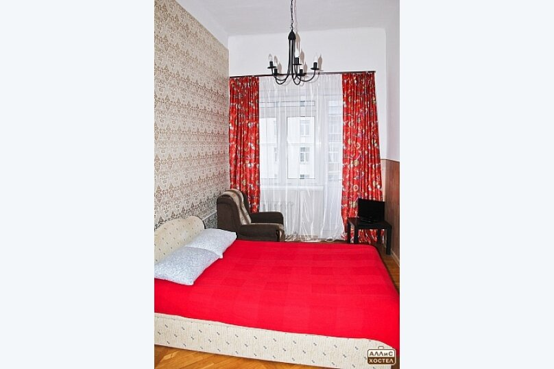 Двухместный номер с двухспальной кроватью, улица Малышева, 27, метро Площадь 1905 года, Екатеринбург - Фотография 1