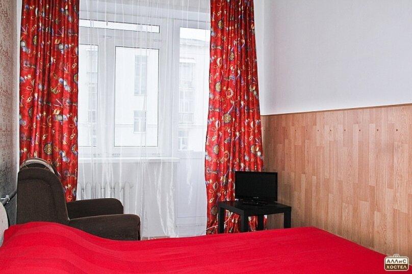 Двухместный номер с двухспальной кроватью, улица Малышева, 27, метро Площадь 1905 года, Екатеринбург - Фотография 2