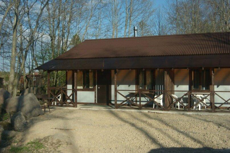 Дом на берегу реки Вуокса, 60 кв.м. на 4 человека, 2 спальни, улица Ленина, 2, Приозерск - Фотография 1
