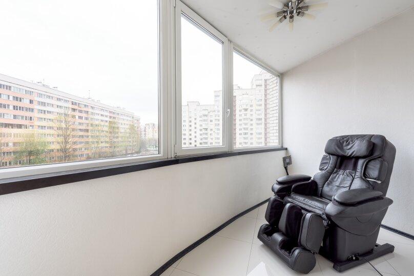 2-комн. квартира, 95 кв.м. на 5 человек, Ленинский проспект, 104, Санкт-Петербург - Фотография 8