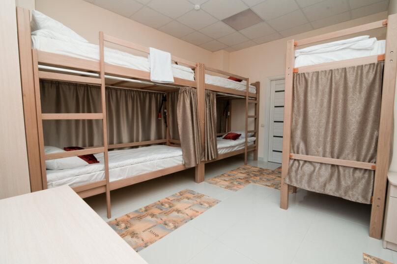 Женская комната на 8 человек, улица Бабушкина, 179/1, Краснодар - Фотография 1