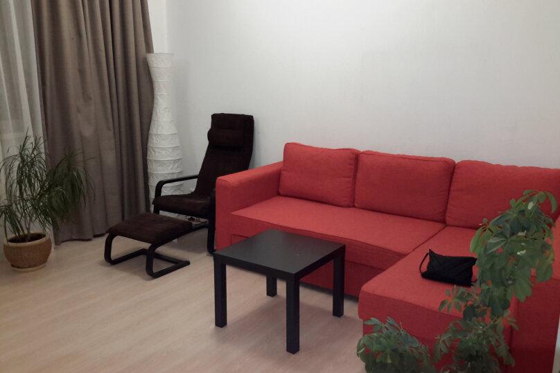 1-комн. квартира, 45 кв.м. на 2 человека, Дальневосточная улица, 120, Иркутск - Фотография 2