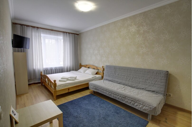 1-комн. квартира, 32 кв.м. на 4 человека, улица Циолковского, 7, Щелково - Фотография 1