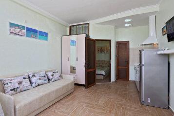 Номер двухкомнатный на первом этаже:  Квартира, 4-местный, 2-комнатный, Гостиница, Черноморская набережная на 8 номеров - Фотография 4