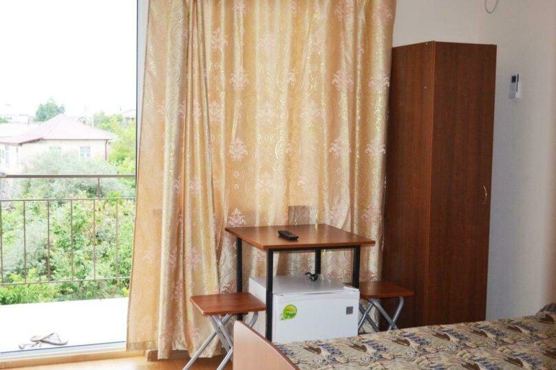 Однокомнатный, 2-местный с двумя односпальными кроватями или одной двухспальной кроватью  (11 номеров), улица Аланская, 34, Сухум - Фотография 6