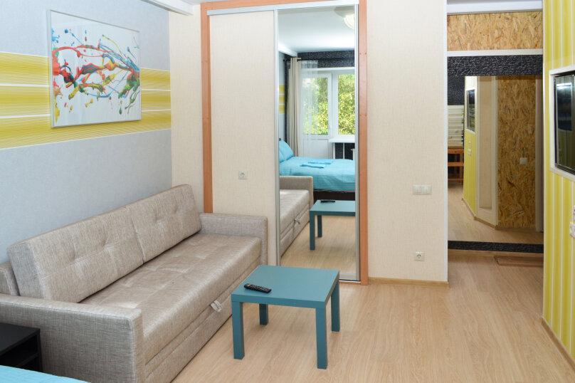 1-комн. квартира, 40 кв.м. на 4 человека, улица Елизаровых, 43, Томск - Фотография 2