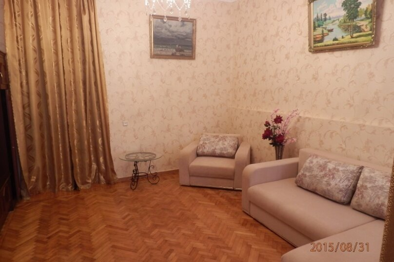 3-комн. квартира, 60 кв.м. на 6 человек, улица Калинина, 13, Алупка - Фотография 3