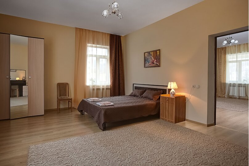 3-комн. квартира, 140 кв.м. на 9 человек, улица Герцена, 5, Кисловодск - Фотография 1
