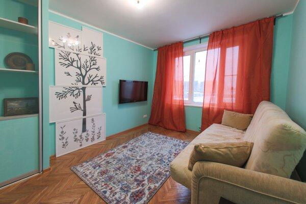 2-комн. квартира, 50 кв.м. на 4 человека, проспект Вернадского, 99к1, Москва - Фотография 1