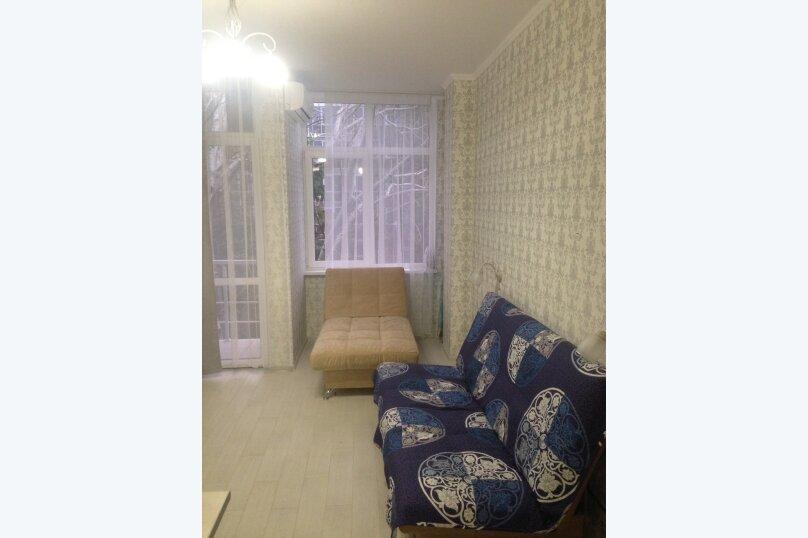 1-комн. квартира, 27 кв.м. на 3 человека, улица Просвещения, 118к1, Сочи - Фотография 4