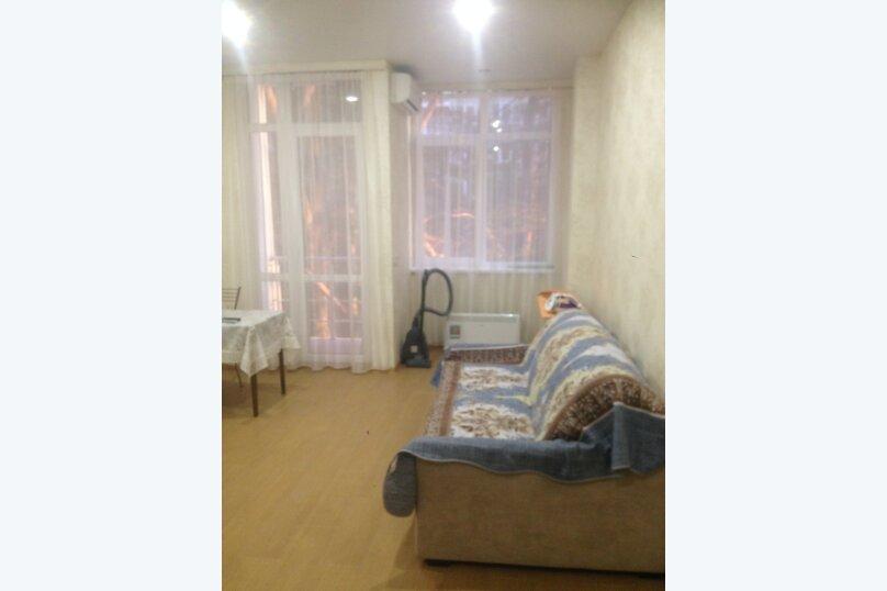 1-комн. квартира, 27 кв.м. на 3 человека, улица Просвещения, 118к1, Адлер - Фотография 1