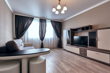 2-комн. квартира, 80 кв.м. на 6 человек, улица Филатова, 19, Краснодар - Фотография 1