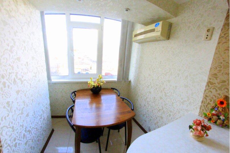 3-комн. квартира, 80 кв.м. на 6 человек, улица Бирюзова, 2А, Судак - Фотография 4